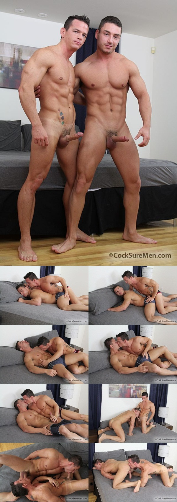 Marc Dylan fucked by Calvin Knight at CockSure Men Download Full Stud Gay Porn Movies Here