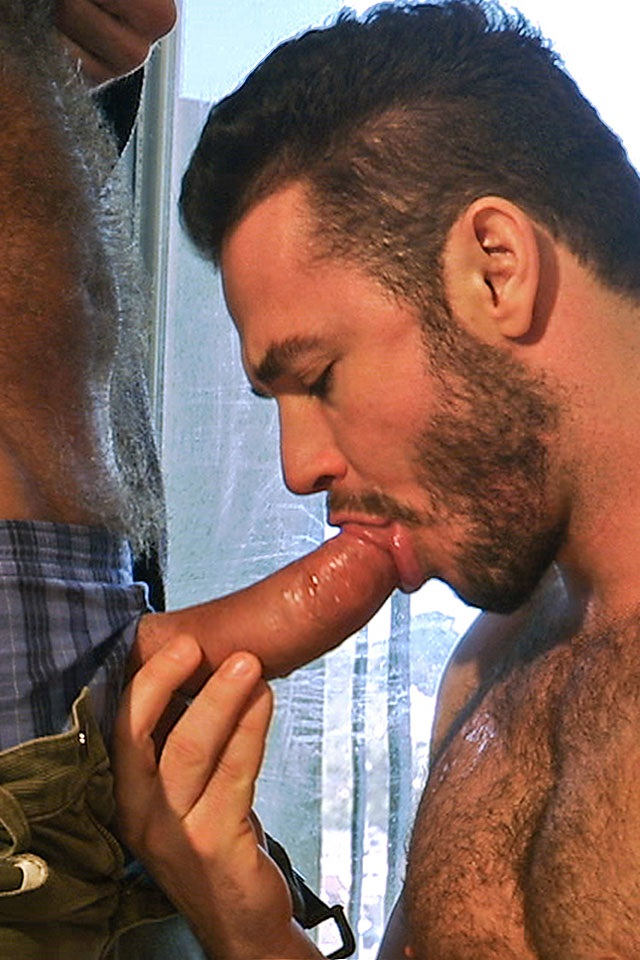 Jessy Ares with Allen Silver at Titan Men