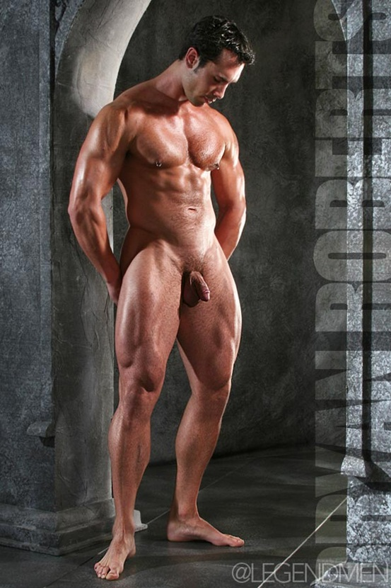 Legend Men Hot naked muscle hunks Bryan Roberts Ripped Muscle Bodybuilder Strips Naked and Strokes His Big Hard Cock photo Top 100 worlds sexiest naked muscle men at Legend Men (11 20)