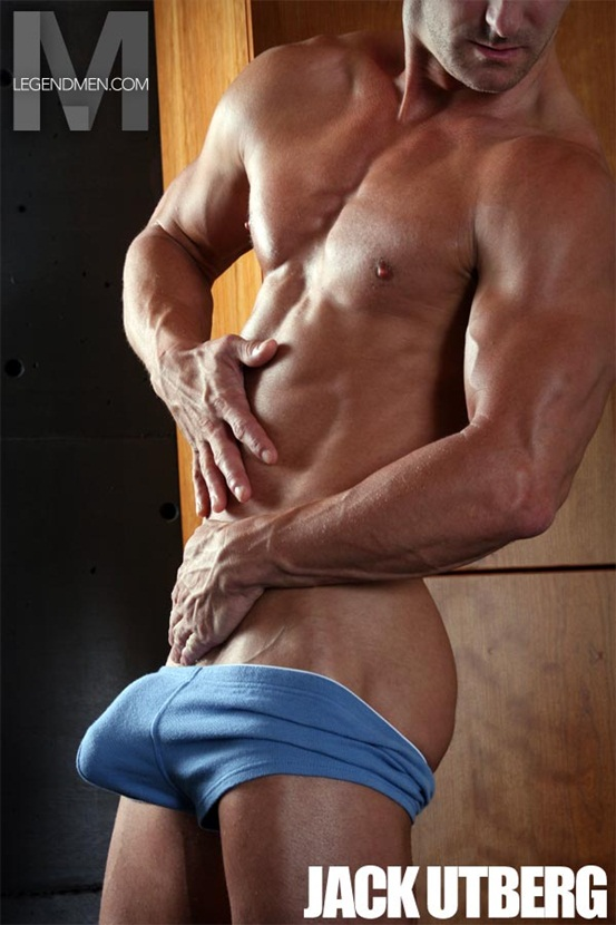 Legend Men Hot naked muscle hunks Jack Utberg Ripped Muscle Bodybuilder Strips Naked and Strokes His Big Hard Cock photo Top 100 worlds sexiest naked muscle men at Legend Men (41 50)