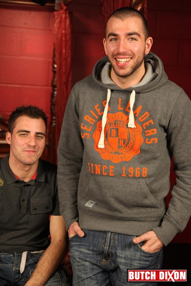 Adrian Adams & Fraser Jacs at Butch Dixon