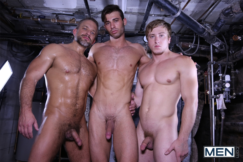Dirk Caber, Jarec Wentworth and Tom Faulk