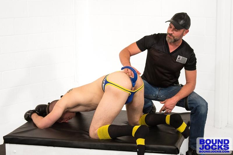 bound jocks  Bound puppy Tyler Rush trained by Mr. Kristofer