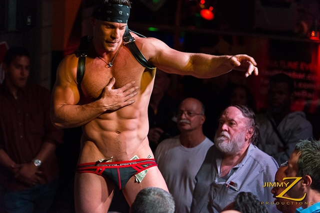 JimmyZProductions Axel ripped nude muscle bodybuilder man sexy athlete gay stripper stage fully naked 001 male tube red tube gallery photo - Axel