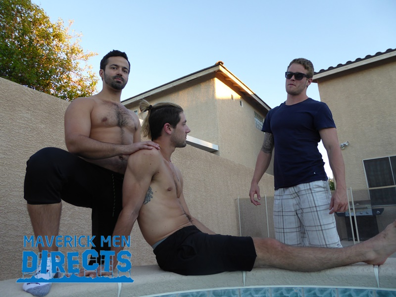 MaverickMenDirects big nude muscle dude muscled hunk stud Sean ass fuck Anthony tight bubble butt asshole rimming cocksucker 001 gay porn sex gallery pics video photo - Delicious scruffy muscle stud Sean with smoking hot power fucker Anthony