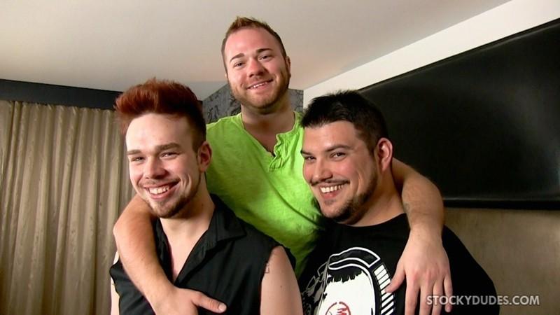 Craig Cruz, Zeke Johnson and Brock Fulton