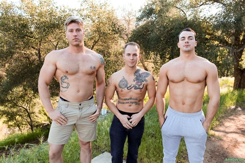 Young-army-recruits-Richard-Buldger-Alex-James-John-Hawkins-hardcore-anal-fucking-ActiveDuty-002-Gay-Porn-Pics