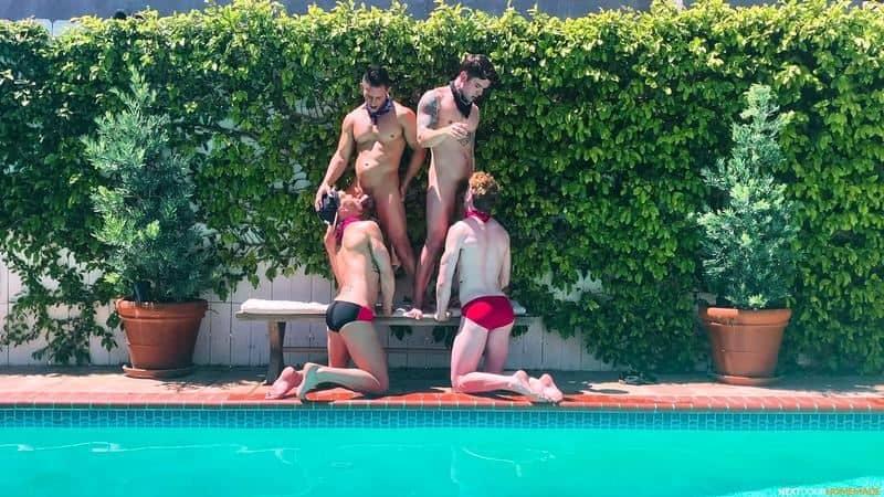 Poolside fuck fest Dakota Payne Jax Thirio huge dicks bareback fucking sexy boys Max Lorde Devyn Pauly 14 gay porn pics - Poolside fuck fest Dakota Payne and Jax Thirio's huge dicks bareback fucking sexy boys Max Lorde and Devyn Pauly
