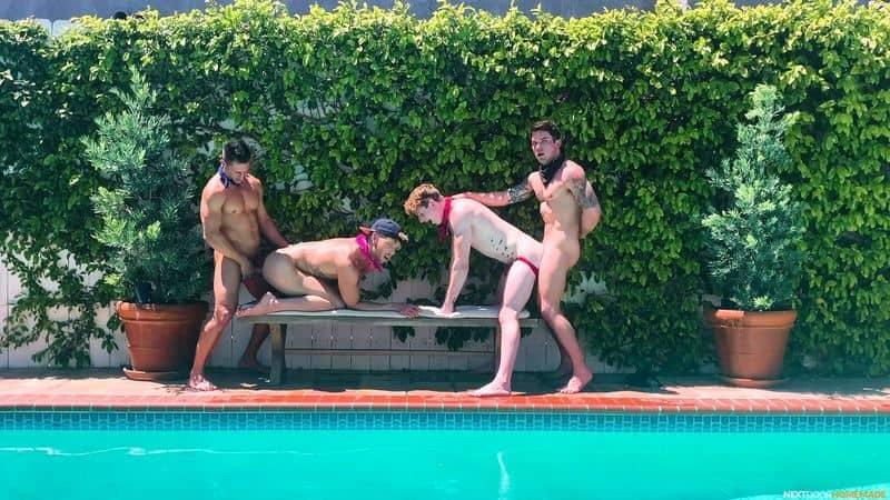 Poolside fuck fest Dakota Payne Jax Thirio huge dicks bareback fucking sexy boys Max Lorde Devyn Pauly 5 gay porn pics - Poolside fuck fest Dakota Payne and Jax Thirio's huge dicks bareback fucking sexy boys Max Lorde and Devyn Pauly