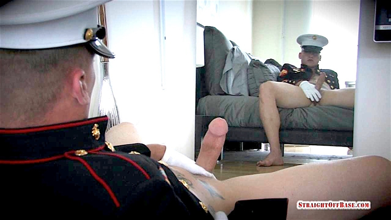 Massive tattooed sexy Navy Corporal Straight Off Base Quinn wanks huge cock explodes cum 001 gay porn pics - Massive tattooed sexy Navy Corporal Straight Off Base Quinn wanks his huge cock till he explodes in cum