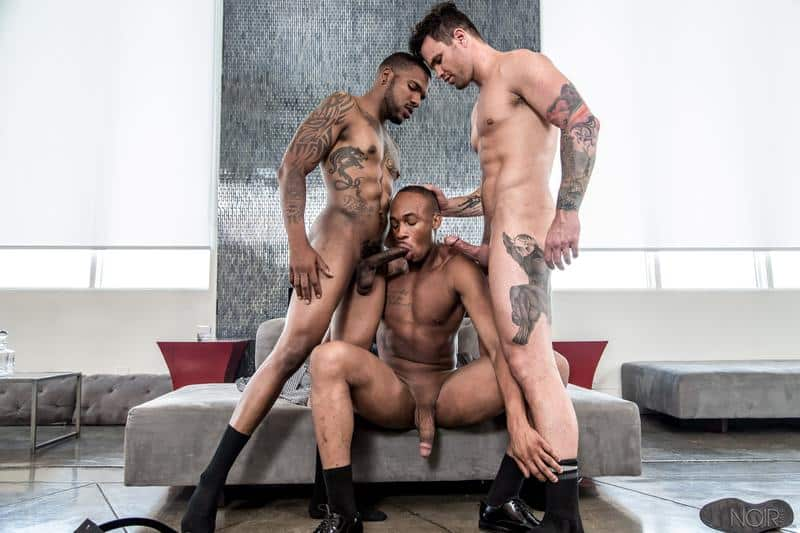 Ripped Aaron Reese huge black dick fucking Beau Reed and Trent King hot bubble asses 0 gay porn pics - Ripped Aaron Reese's huge black dick fucking Beau Reed and Trent King's hot bubble asses