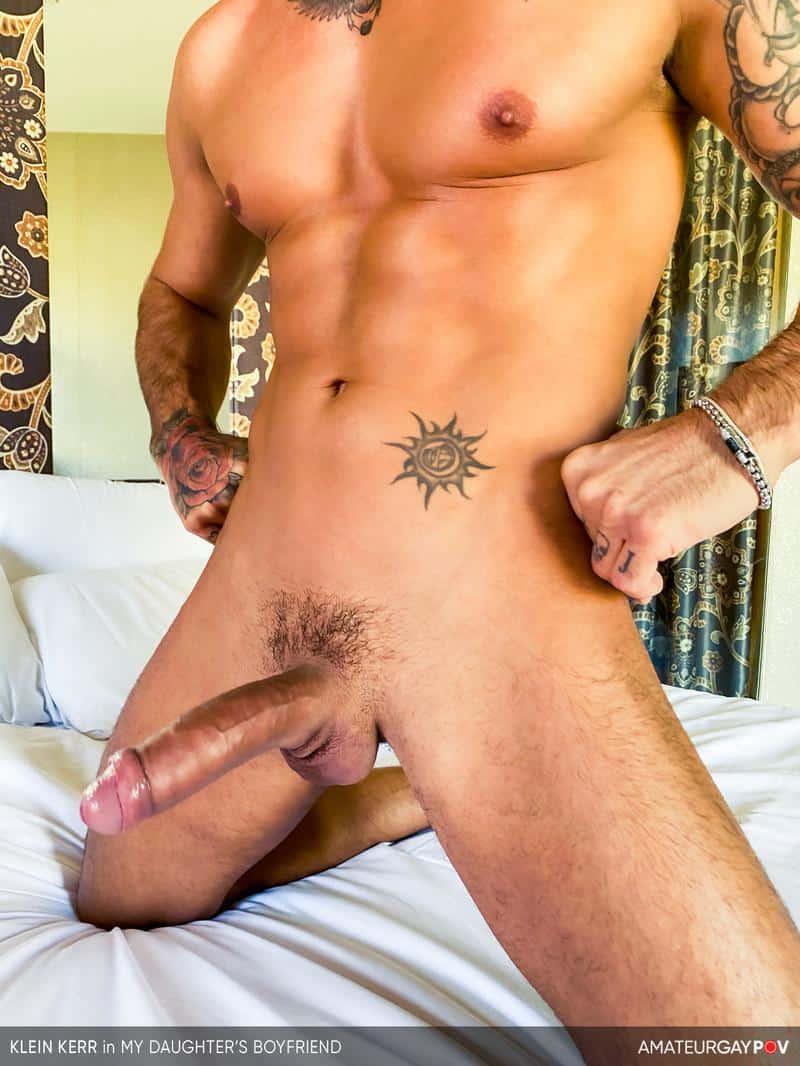 Young hottie Latin stud Klein Kerr bottoms huge uncut dick 6 gay porn pics - Young hottie Latin stud Klein Kerr bottoms for a huge uncut dick
