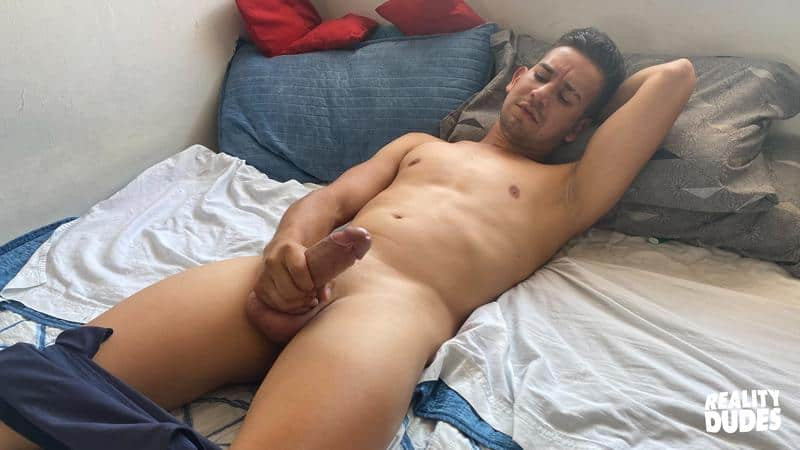 Bedroom threesome Bukkake Milo Leo Pablo X 4 gay porn pics - Bedroom threesome Bukkake with Milo, Leo and Pablo X