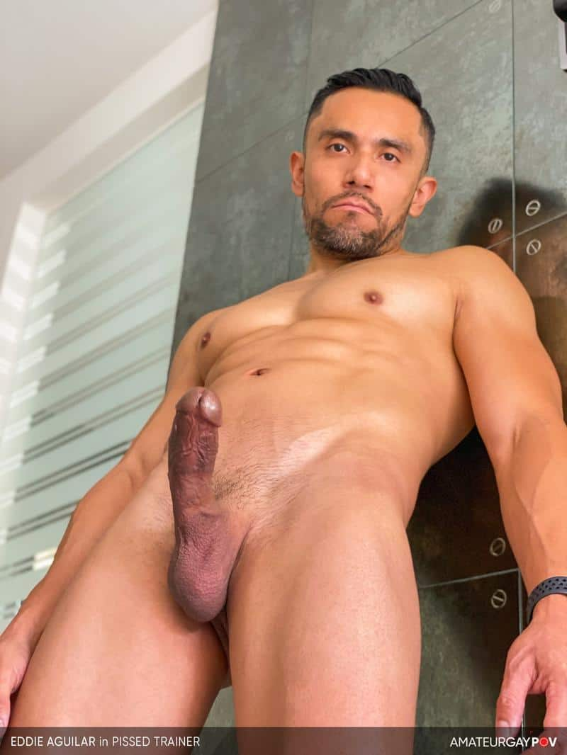 Hot bearded muscle hunk Eddie Aguilar hot bubble butt raw fucked huge uncut dick 11 gay porn pics - Hot bearded muscle hunk Eddie Aguilar's hot bubble butt raw fucked by huge uncut dick