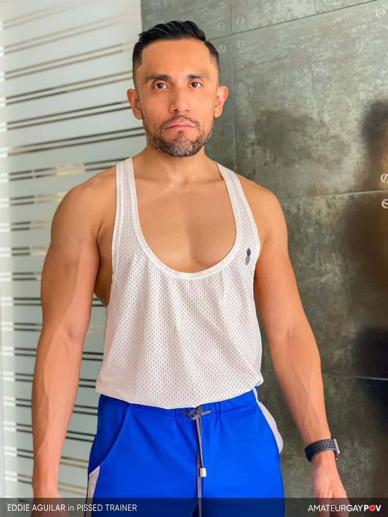 Hot bearded muscle hunk Eddie Aguilar hot bubble butt raw fucked huge uncut dick 2 gay porn pics - Hot bearded muscle hunk Eddie Aguilar's hot bubble butt raw fucked by huge uncut dick