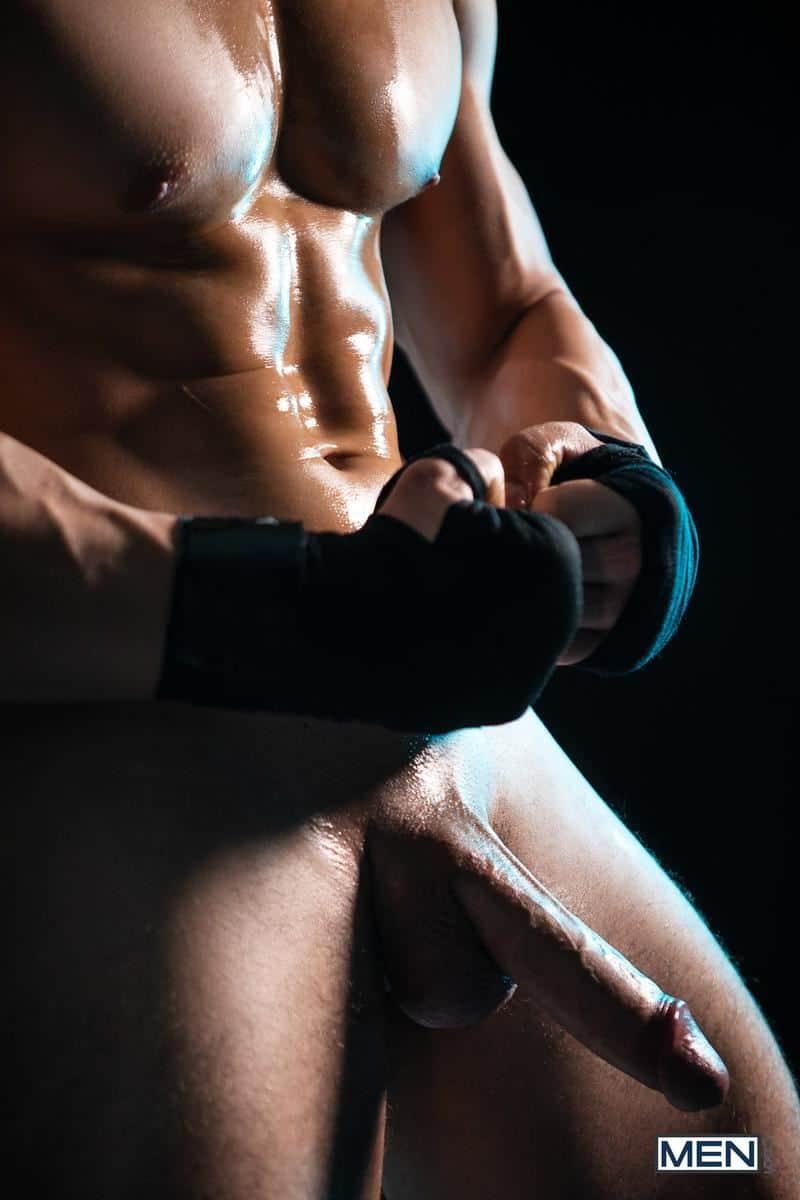 Sexy black boxer Trent King hot bubble ass raw fucked built muscle boy Malik Delgaty 19 gay porn pics - Sexy black boxer Trent King's hot bubble ass raw fucked by built muscle boy Malik Delgaty