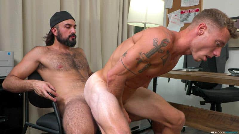 Sexy ripped stud Justin Matthews hot asshole raw fucked hairy chested hunk Mason Lear huge dick 10 gay porn pics - Sexy ripped stud Justin Matthews's hot asshole raw fucked by hairy chested hunk Mason Lear's huge dick