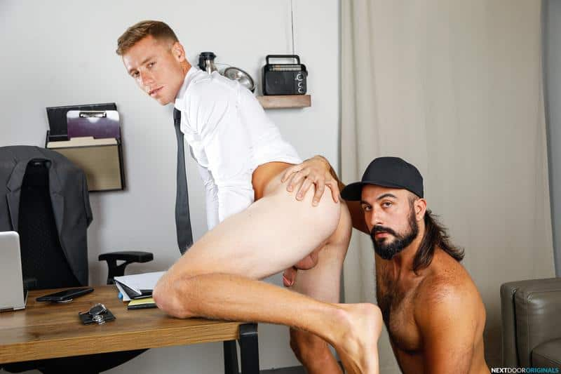 Sexy ripped stud Justin Matthews hot asshole raw fucked hairy chested hunk Mason Lear huge dick 4 gay porn pics - Sexy ripped stud Justin Matthews's hot asshole raw fucked by hairy chested hunk Mason Lear's huge dick