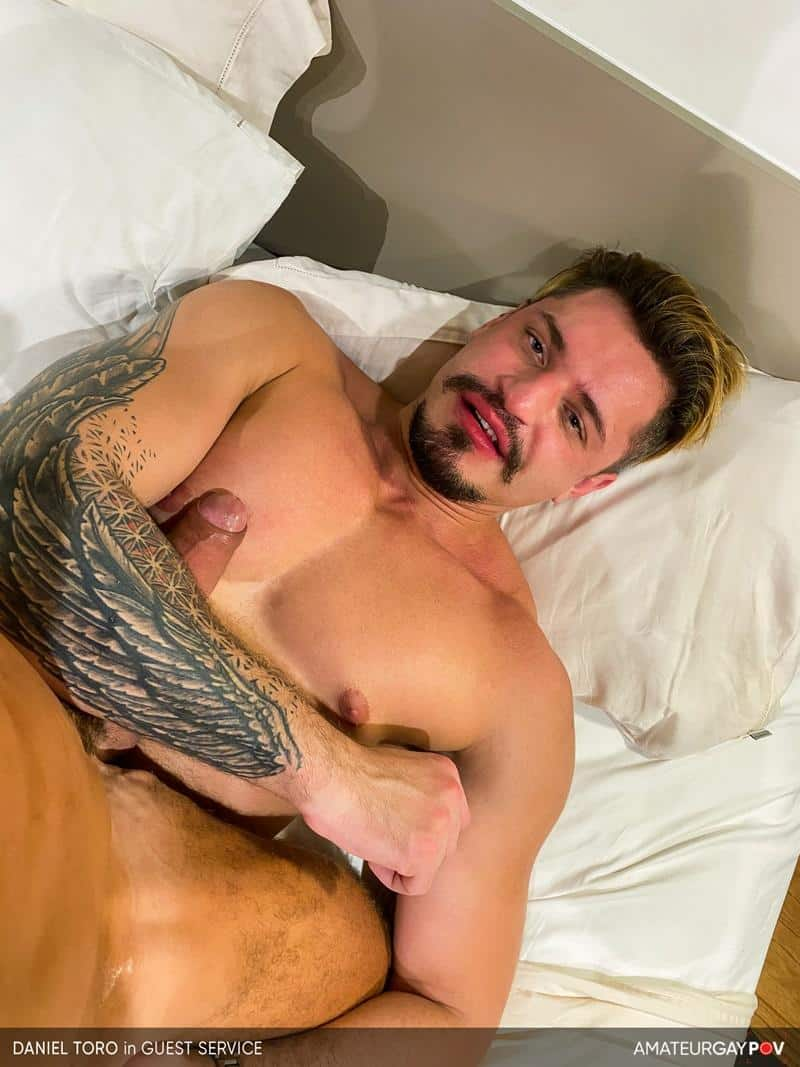 Hot bearded muscle bottom Daniel Toro sucked fucked older hunk Manuel Skye 15 gay porn pics - Hot bearded muscle bottom Daniel Toro sucked and fucked by older hunk Manuel Skye