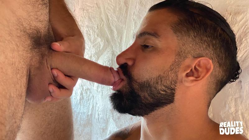 Tattooed Latino hunk Octavio hot asshole bare fucked Rob Campos huge thick dick 12 gay porn pics - Tattooed Latino hunk Octavio's hot asshole bare fucked by Rob Campos's huge thick dick