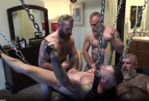 Young Son Sling Foursome Bareback Fucking House of Angell Honest Gay Porn Site Review 305x207 - House of Angell – Gay Porn Site Review
